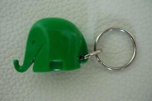 Luigi Colani Design Mini Drumbo Elefant Schlüsselanhänger Grün Vintage 70er