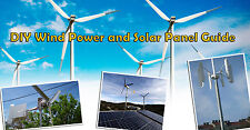 DIY Wind Power and Solar Panel hybrid 26 books in PDF step by step - Send E-mail