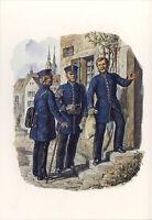AK: Reichs-Postverwaltung, Landbriefträger, Briefträger, Packmeister, 1871 mit B
