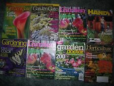 GARDENING MAGAZINES LOT OF 6 ISSUES  Gardening How-To Garden Gate, Better Homes,