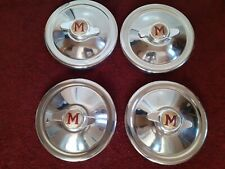 Morris Minor Hubcaps with Rare Spinners lovely condition