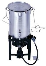 Expert Grill 30 Quart Propane Gas Turkey Fryer with Spigot