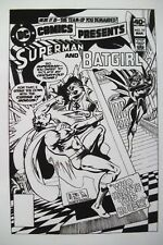Original Production Art DC COMICS PRESENTS #19 cover, ROSS ANDRU & DICK GIORDANO