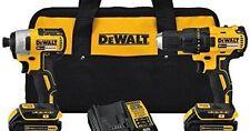 Dewalt DCK277C2 20v Max 1.5 Ah Cordless Lithium Brushless Drill And Impact Combo