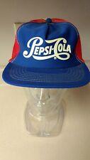 Vintage Pepsi-Cola Snapback Trucker Mesh Hat Estate