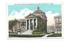 EARL HALL&SCHOOL OF ENGINEERING-COLUMBIA UNIVERSITY 117 TH ST BROADWAY NEW YORK