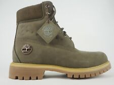Mens Timberland 6 Inch Premium Chukka A1WHF Canteen Leather Lace Up Boots