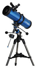 Meade - Polaris 130mm German Equatorial Reflector Telescope - Blue/Silver/Black