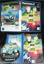 RETRO GIOCO CONSOLE PLAYSTATION PS 2 GAME-BEN 10 ALIEN FORCE BEN10 VILGAX ATTACK
