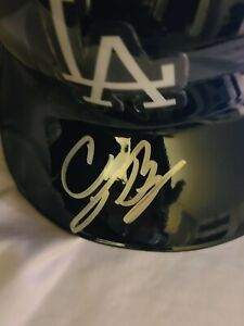 CODY BELLINGER SIGNED DODGERS FULL SIZED AUTHENTIC BATTING HELMET
