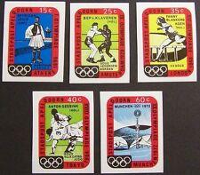 Stadspost Apeldoorn 1972 - Serie Moderne Olympische Spelen, Olympics ongetand