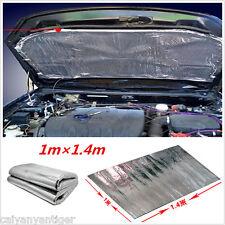 Car Exhaust Muffler Turbo Hood Heat Shield Cover Aluminised Barrier Mat 1m x1.4m