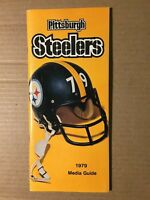 1979 Pittsburgh Steelers Football Media Guide EXCELLENT Condition