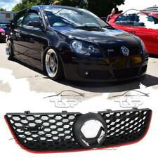 FRONT GRILL FOR VW POLO 9N3 05-09 GTI LOOK SPOILER BODY KIT NEW