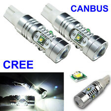 CREE 2× 25W LED 501 T10 194 2825 W5W Projector Bulb Canbus Error Free Sidelight