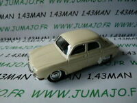 SOL12N Voiture 1/43 solido renault : dauphine blanche