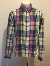 Abercrombie and fitch Juniors plaid shirt - Size L