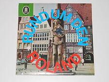 """Rund um den Roland - 7"""" EP - Odeon O 41 628 - Heinz Bartels - Lale Andersen"""