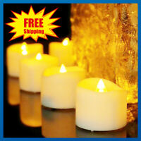 24 PCS Electric Battery Operated LED Tea Lights Candles Flameless Romantic Xmas