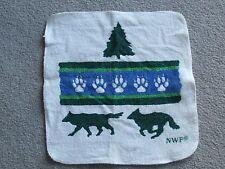 Wolf design 3 piece towel set - Bath, Hand and washcloth - NEW