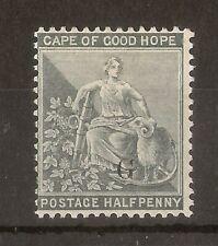 (J) Griqualand 1879 0.5d 'G' Overprint Mint