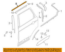 LAND ROVER OEM 2017 Discovery Exterior-Rear-Upper Molding Trim Right LR082906