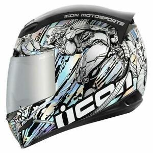 Icon Airmada Mechanica Motorcycle Helmet XL