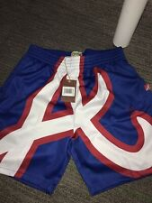 Atlanta Braves Big Face Mitchell & Ness Swingman Shorts XL