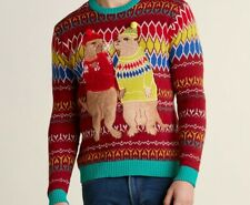 33 Degrees Meerkat Couple Men's Christmas sweater M