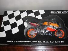 Minichamps Honda RC211V Valentino Rossi Repsol World Champion MotoGP 2003 1/12