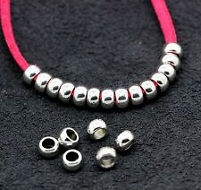 Jewelry finding Tibetan silver fashion Charms Spacer beads 30pcs 5X3mm