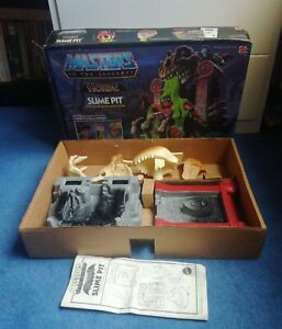 SLIME PIT - Vintage Masters of the Universe Playset - Boxed with Insert - 1985