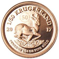 50 Jahre Jubiläums-Krügerrand 1/50 oz Gold PP Südafrika 2017