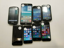 Lot of 8 Assor. Samsung/BlackBerry/Etc. Verizon Check Imei Grade B/C/D - Rj1558