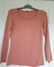 Excellent Condition Saint Tropez Dusty Pink Long Sleeved Top Size L (14-16)