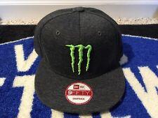 Monster Energy Hat. New Era SnapBack Athlete Only