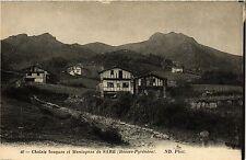 CPA Chalest basques et Montagnes de Sare (365439)
