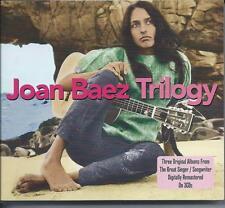 Joan Baez - Trilogy - Three Original Albums (3CD 2012) NEW/SEALED