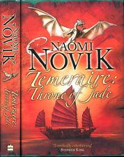 Throne of Jade Naomi Novik (His Majesty's Dragon) HC UK True 1st/1st SIGNED