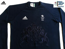 Adidas Team GB Rio 2016 Jeux Olympiques athlète College of Arms Pull Taille 40/42