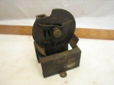 Antique US Automatic Pencil Sharpener 1906 Patent Hand Crank Desk Top Mechanical