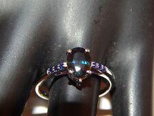 1.56 ctw Natural Madagascar no heat Sapphire Engagement Ring 10k WG Designer