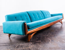 Mid Century Modern Sofa Couch Gondola Kroehler Adrian Pearsall Kagan Danish MCM