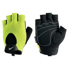 Nike Mens Fundamental Training Gloves Gym Bike Volt Black Size Adult M L    T352