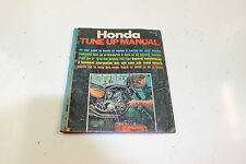Vintage 1971 Honda Motorcycle Tune Up Manual by Cycle Guide Publications