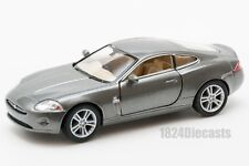 Jaguar XK Coupe in grey, Kinsmart KT5321D, 1:38 scale, 5 inch model toy car gift