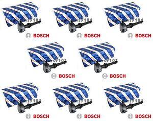 Set of (8) Land Rover Range Rover Sport Bosch Ignition Coils 0221604022 AJ811378