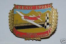 Vintage 1996 Reno National Championship Air Races Pin Show Strega 95 Champion