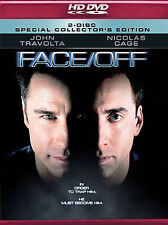 HD DVD, FACE/OFF, 2 DISC SET, NEW/SEALED, COLLECTOR'S EDITION, TRAVOLTA, CAGE