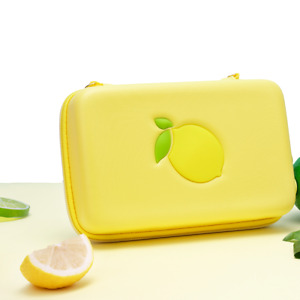 Cute Lemon Travel Carrying Portable Pouch Hard Case Card Bag for Nintendo Switch